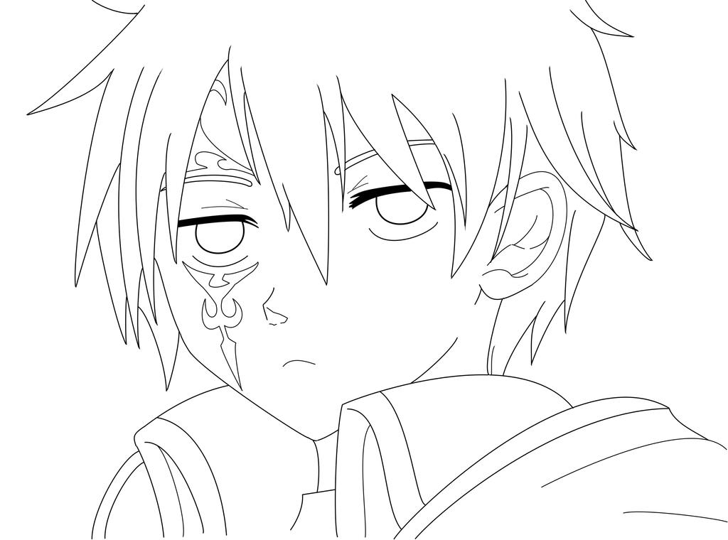 Gerard Jellal Siegrain Fairy Tail Outlines By Animizuu