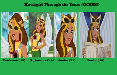 Hawkgirl (DCSHG) Freshman to Senior