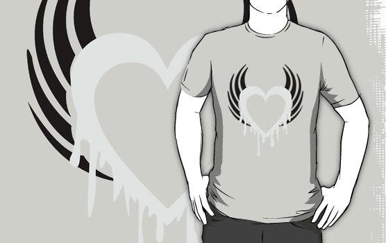 Liquid Silver T-Shirt by drg