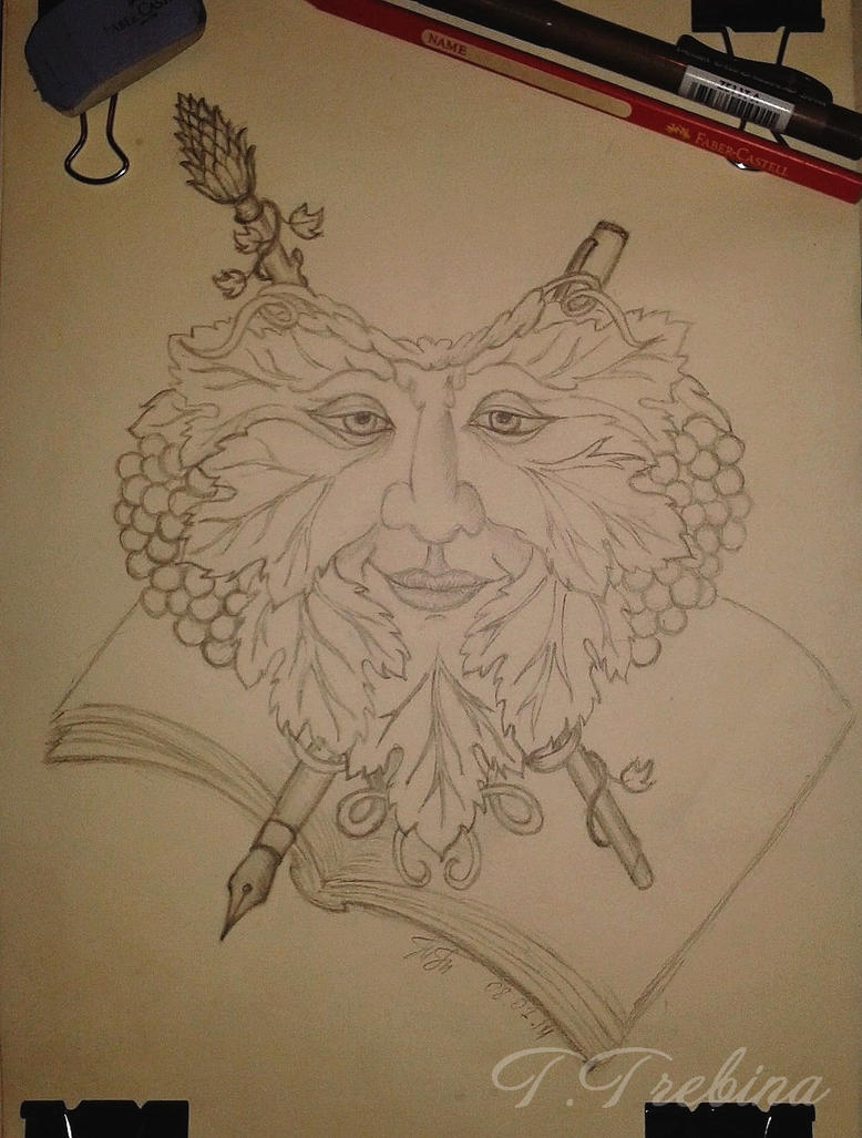 Tattoo design - Dionysus (god of wine) by TTrebina on ...