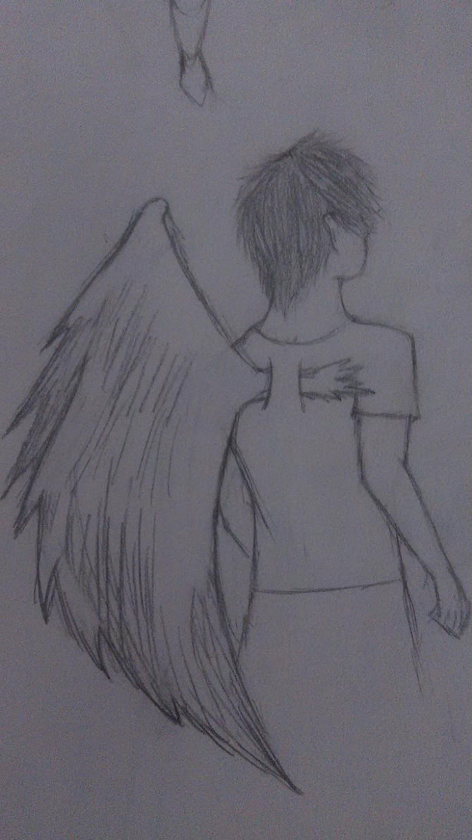 Angel From Behind~ by AnimeIsAmazing593