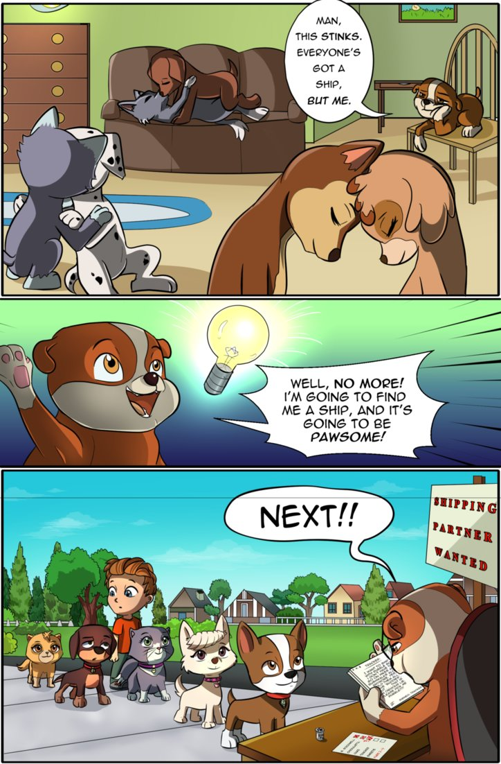 rubble s shipping problem by havochounds on deviantart rubble s shipping problem by