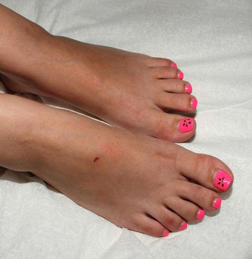 Pink Toenail Polish By Fetphog On DeviantArt