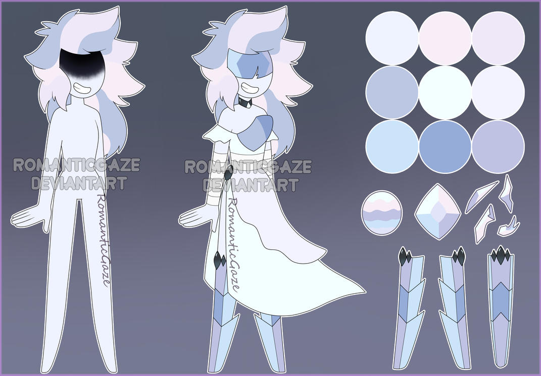 Gemsona-Angel Aura Quartz (ADOPT) by RomanticGaze