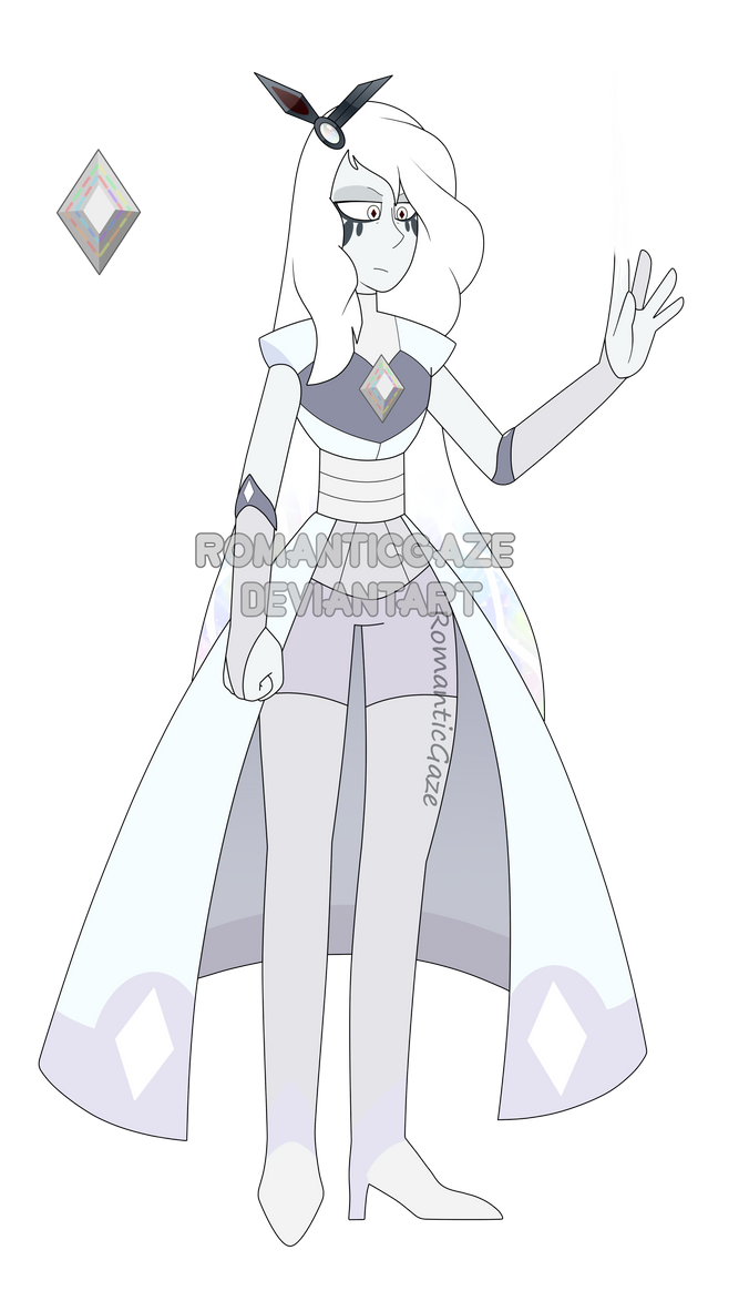 Gemsona-LIGHT DIAMOND (ADOPT) by RomanticGaze