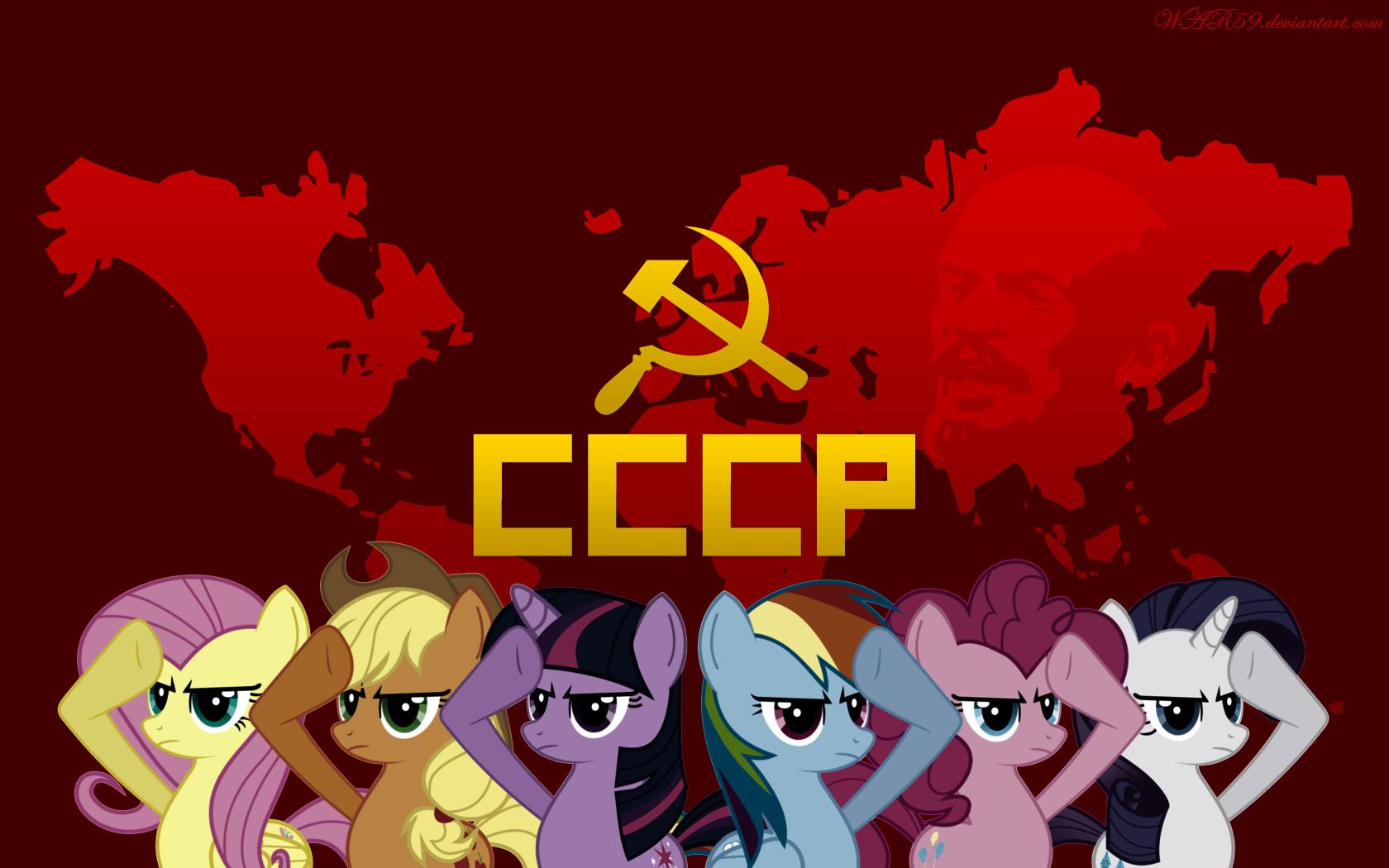 Soviet Ponies by WAR59