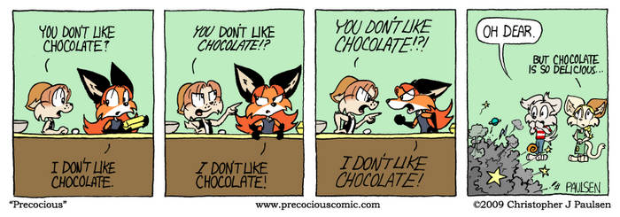 You don't like chocolate!? by DRB-II