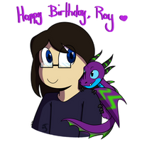 Happy B-Day Ray!! by TealTNT