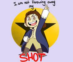My Shot | Hamilton Fanart by TealTNT