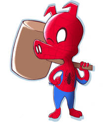 SpiderHam by TealTNT