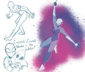 Slip doodles by TealTNT