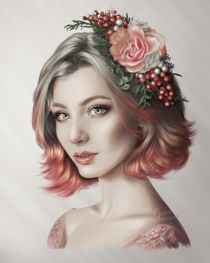 Portret study 6 by xX-Guen-Xx