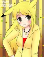 Human Pikachu by BunnieBuns