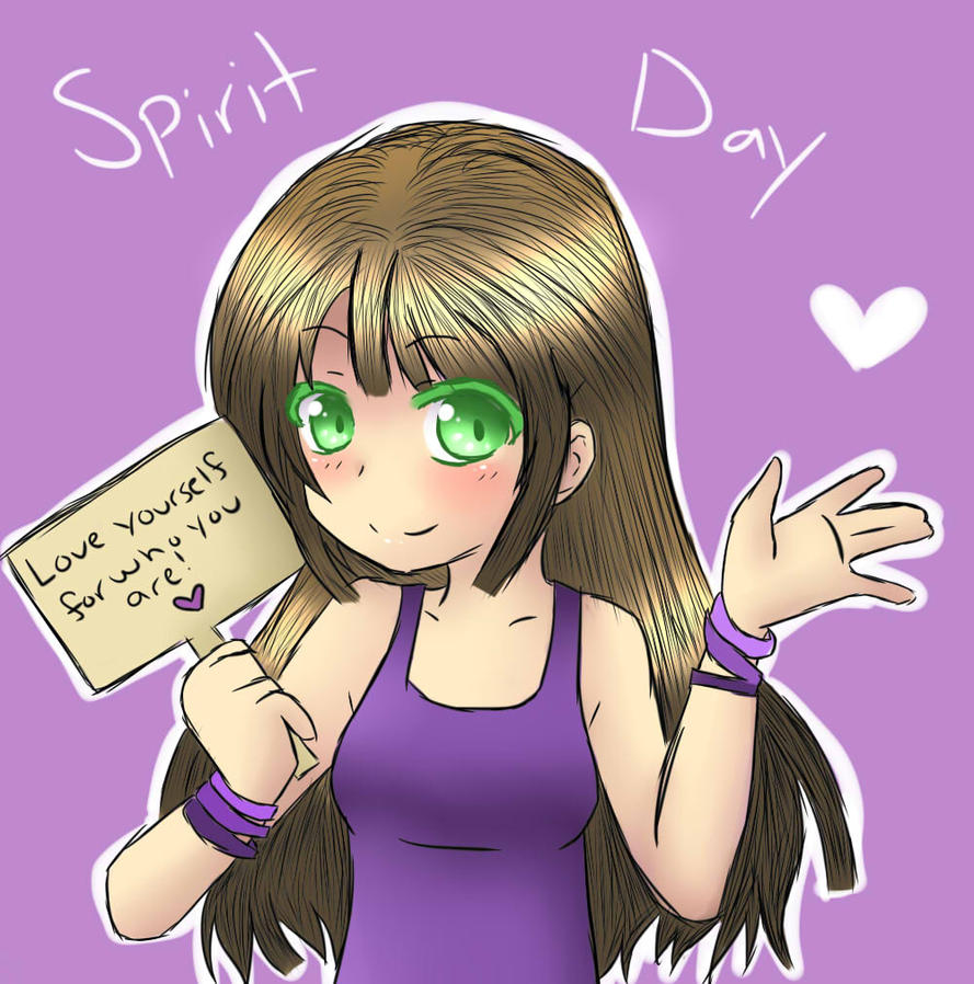 Spirit day 2012 by BunnieBuns