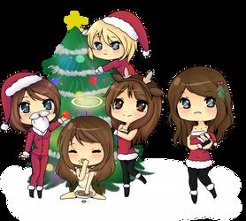 Merry early christmas by BunnieBuns