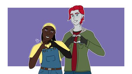 Clea and Tiku