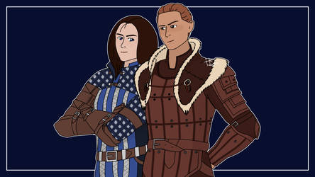 Alistair and Amell