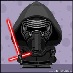Star Wars: Kylo Ren by sp-studio-art