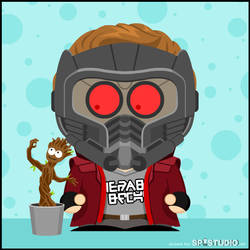 GOTG: Star-Lord and Groot