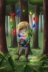 Link Finds Rupees!