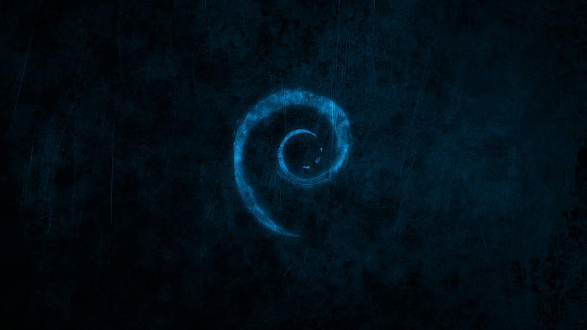 Debian Dark Wallpapers HD 1080 by malkowitch