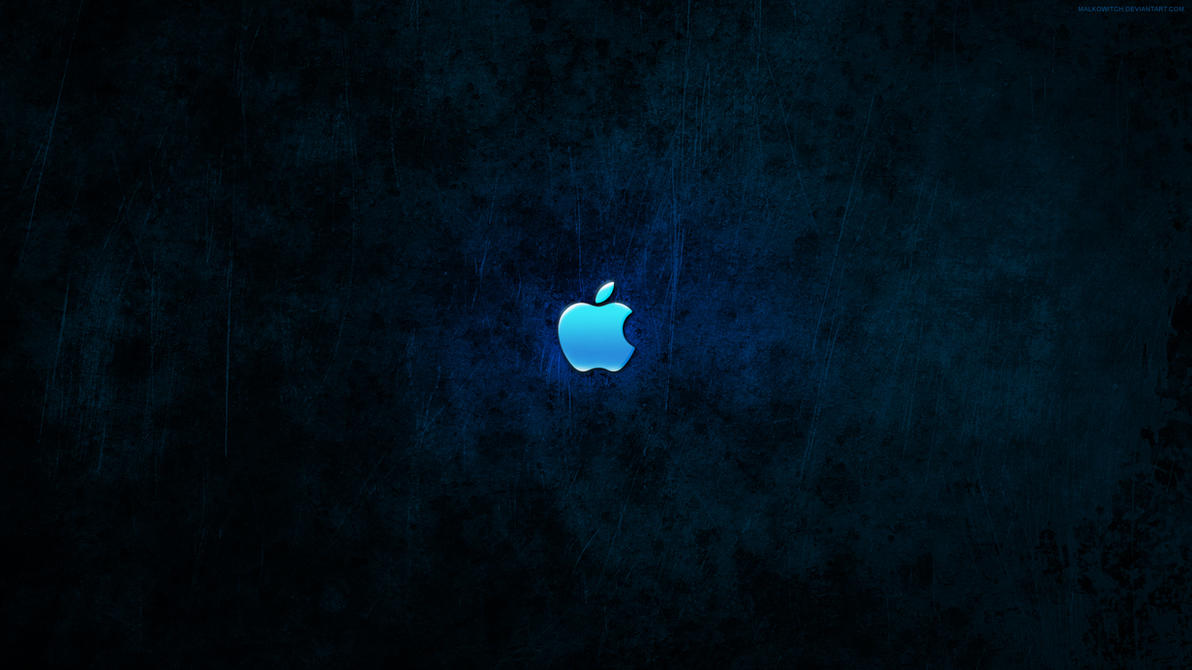 Blue apple wallpaper hd