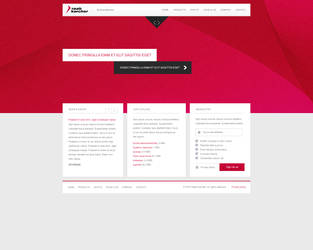 Raab Karcher new Webpage Layout for BestProjekt by malkowitch