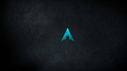 Minimalistic Arch Linux Wallpaper by malkowitch