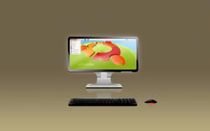 Ubuntu Desk by R8zr