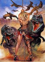 Cyber Punk Sluts In Dinosaur Hell by Rick-Melton