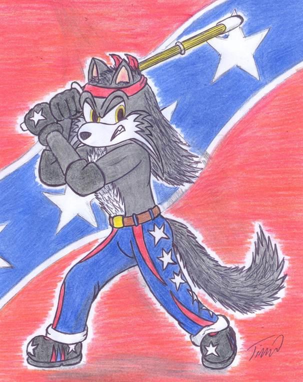6 - American Badass by HammerlockTE