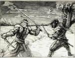 Mongol and Samurai clash
