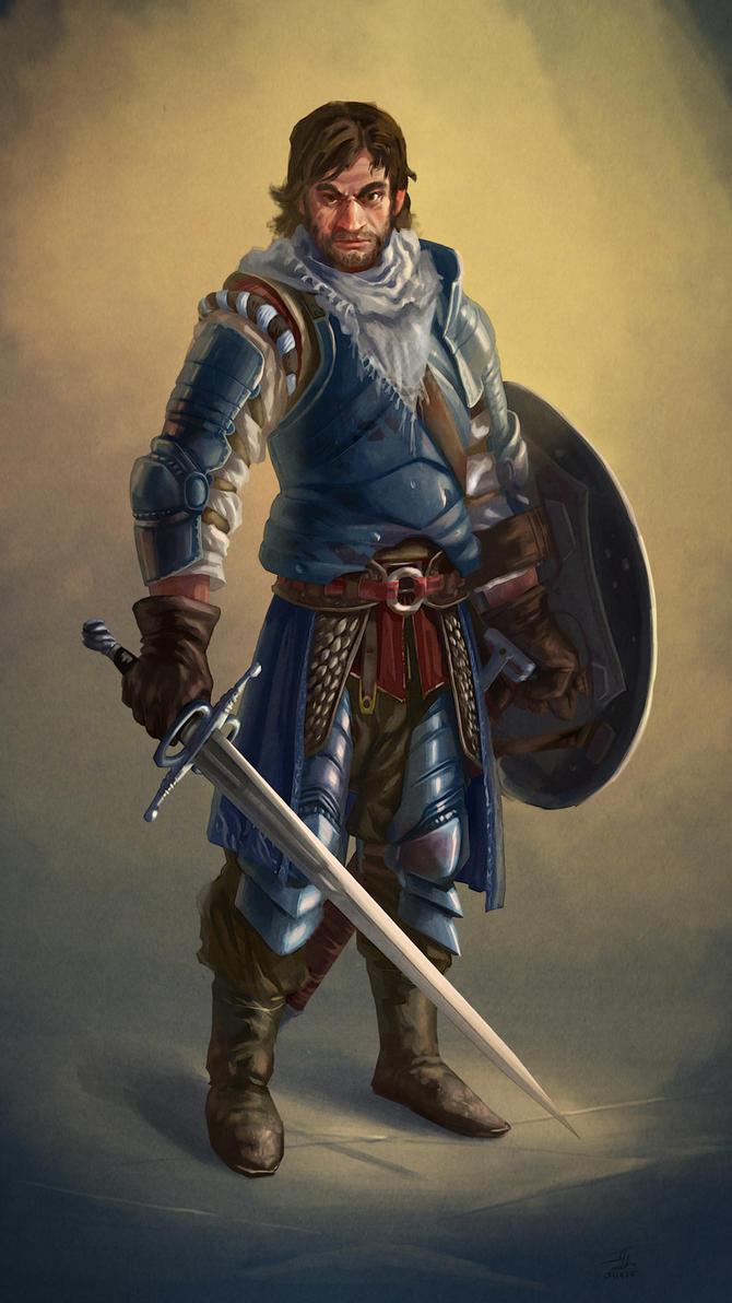 Knight Errant by Aranthulas
