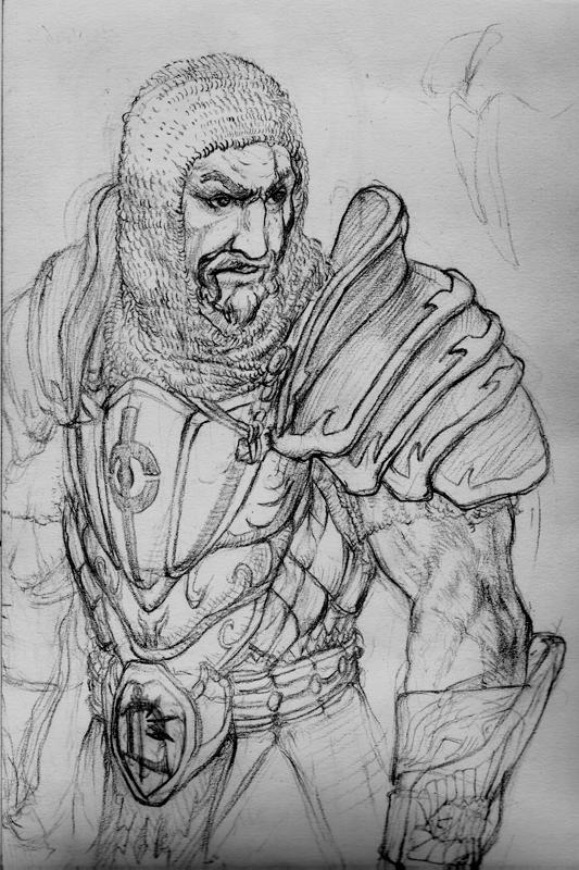The Scarlet Crusader by Aranthulas