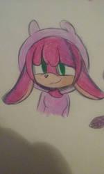 Sonic Oc Mitsuki The Rabbit  by bmowow213