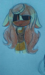 Fiona the Flan muffin by bmowow213