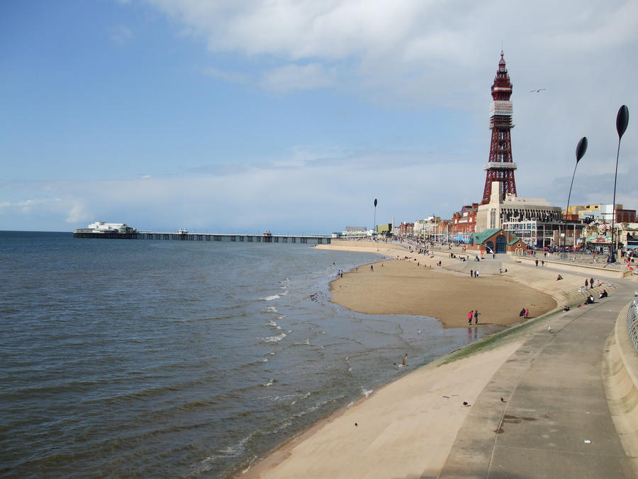 Blackpool Seafront By Carlososososo On DeviantArt