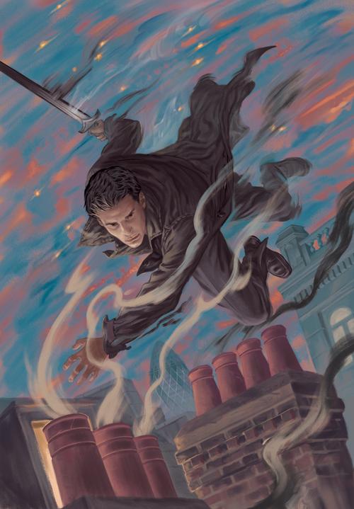 Angel and Faith cover, issue 9 season 9 by StevenJamesMorris