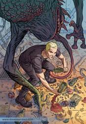 Spike cover variant, issue 1 of 5 by StevenJamesMorris