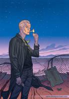 Spike cover variant, issue 2 of 5 by StevenJamesMorris