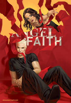 Angel and Faith cover, issue 20