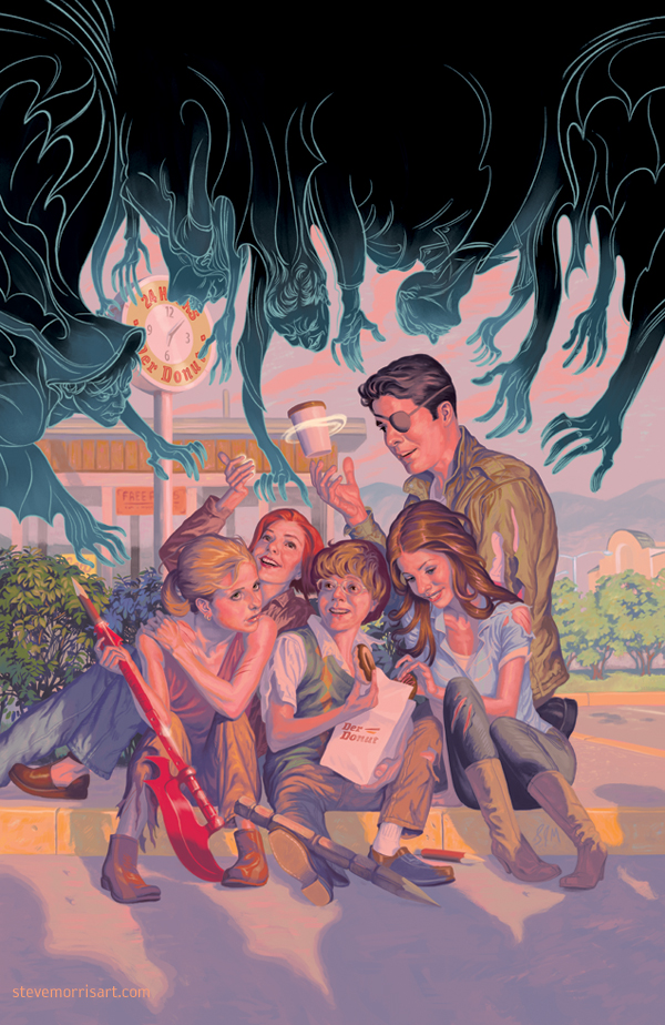 Buffy The Vampire Slayer Season 10 Issue 2 By StevenJamesMorris