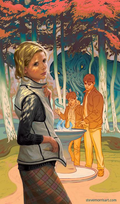 Buffy the Vampire Slayer - cover TPB 3 season 10 by StevenJamesMorris