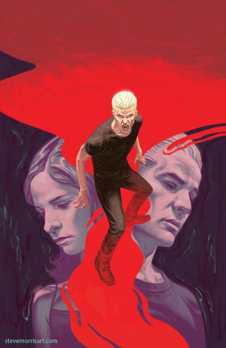 Buffy the Vampire Slayer-cover issue 12 season 10 by StevenJamesMorris