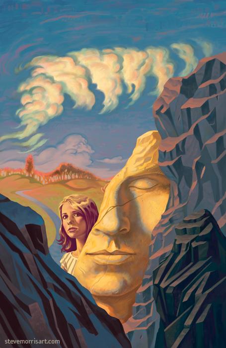 Buffy the Vampire Slayer Cover season 10 issue 14 by StevenJamesMorris