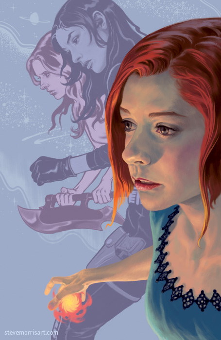 Buffy the Vampire Slayer cover season 9 vol 2 by StevenJamesMorris