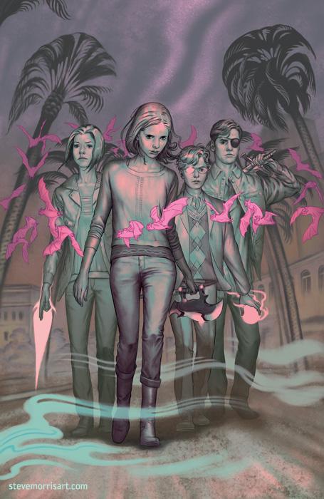 Buffy the Vampire Slayer - Cover s10 issue 15 by StevenJamesMorris