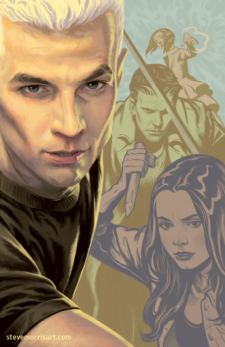 Angel and Faith cover - season 9 vol2 by StevenJamesMorris