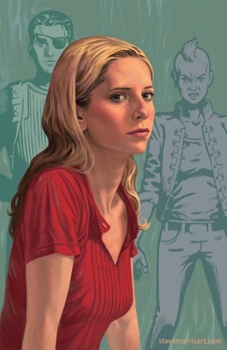 Buffy the Vampire Slayer cover art, Vol3 S9 by StevenJamesMorris