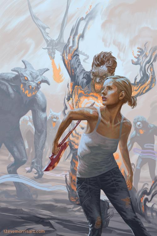Buffy the Vampire Slayer season 10 issue 21 by StevenJamesMorris